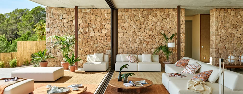 modern Living room by Eugeni Pons