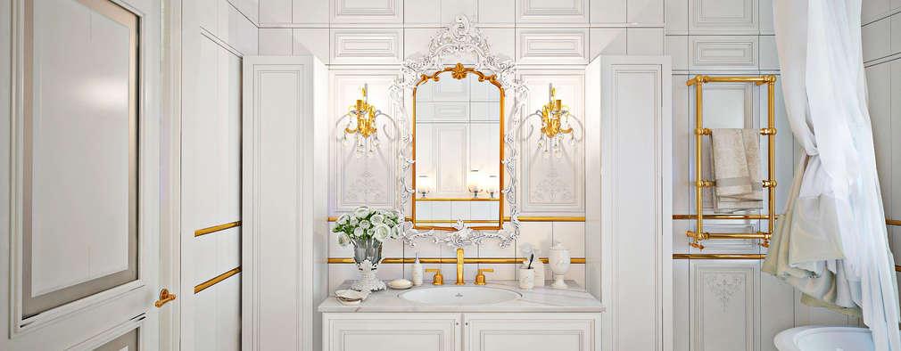 classic Bathroom by GM-interior