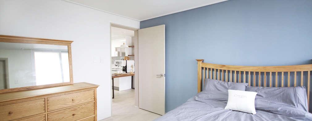 scandinavian Bedroom by 로하디자인