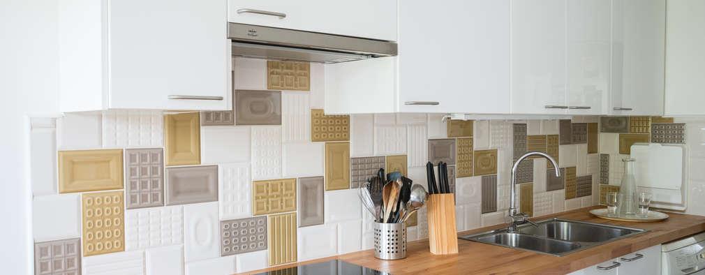 10 Mesadas de madera para la cocina que se verán espectaculares