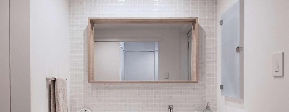 eclectische Badkamer door 一色玲児 建築設計事務所 / ISSHIKI REIJI ARCHITECTS