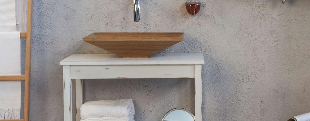 5 bellissime idee per arredare con oggetti di recupero for Oggetti per arredare il bagno