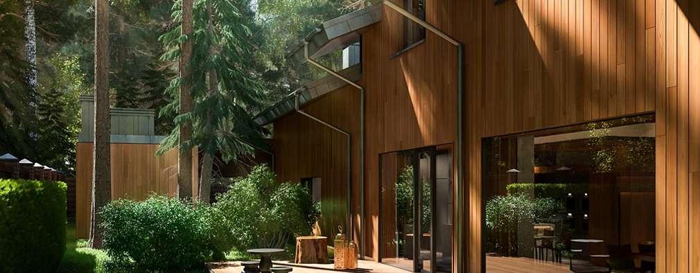 moderne Huizen door Design studio of Stanislav Orekhov. ARCHITECTURE / INTERIOR DESIGN / VISUALIZATION.