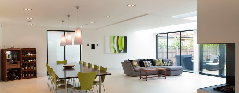 Comedores de estilo moderno por Frost Architects Ltd