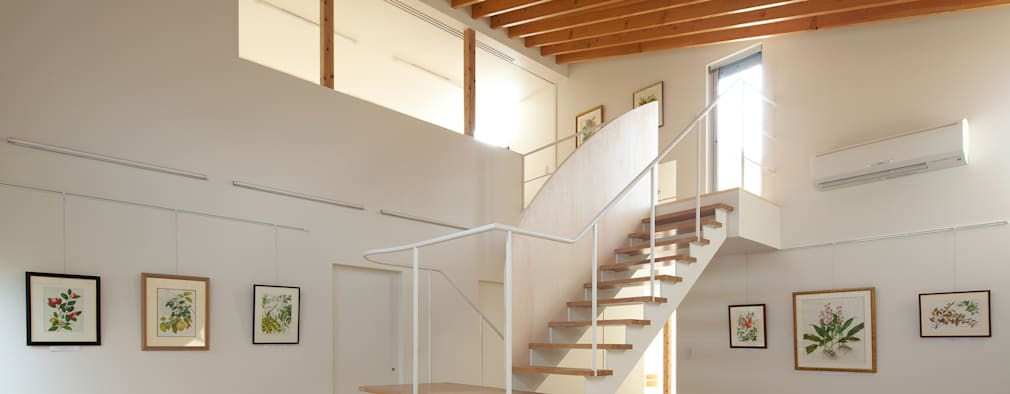 ギャラリースペース: Unico design一級建築士事務所が手掛けた和室です。