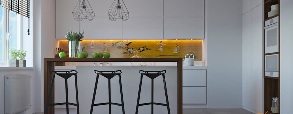 scandinavian Kitchen by Art-i-Chok