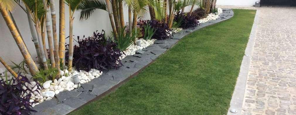 jardines de estilo moderno por beatrice perlac adarve jardines