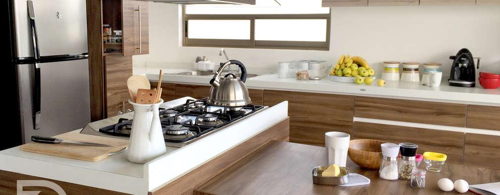 Cocinas de estilo moderno por ESTUDIO FD