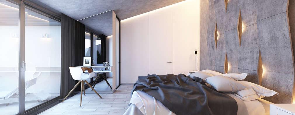 modern Bedroom by BURO'82