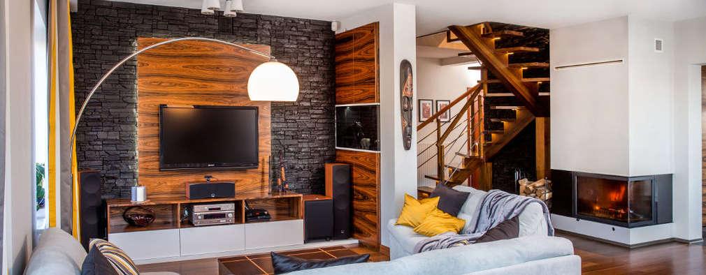Ruang Keluarga by Viva Design - projektowanie wnętrz