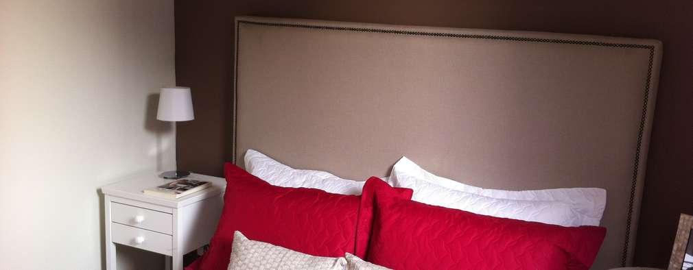 Fabiana Rosello Arquitetura e Interiores의  침실