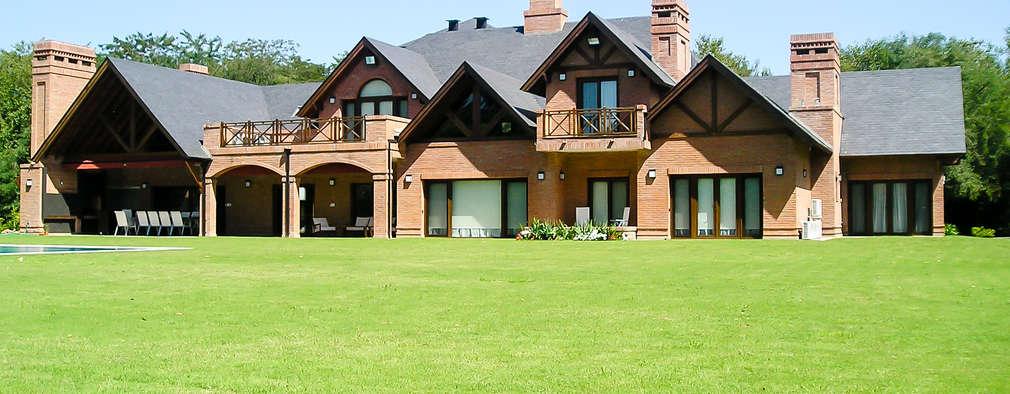 landelijke Huizen door Carbone Fernandez Arquitectos