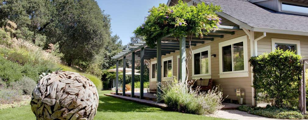 Antonio Martins Interior Design Inc: eklektik tarz tarz Bahçe