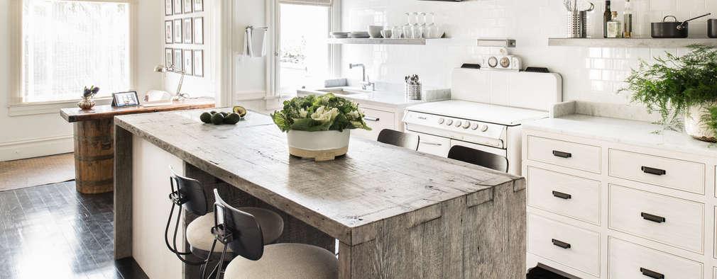 Cocinas de estilo ecléctico por Antonio Martins Interior Design Inc