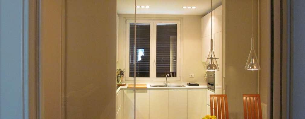 modern Kitchen by Architetto Alberto Colella
