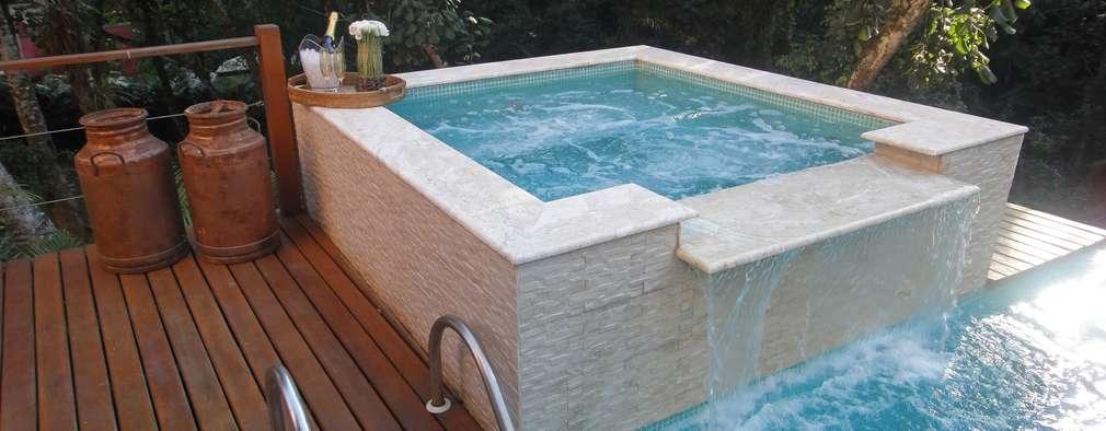 6 jacuzzis de concreto para disfrutar en casa for Se vende jacuzzi exterior
