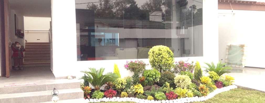 Residencia  : Casas de estilo moderno por CESAR MONCADA S