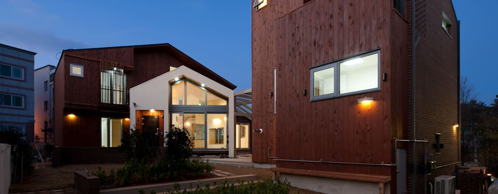 modern Houses by 유경건축_eu.k Architects