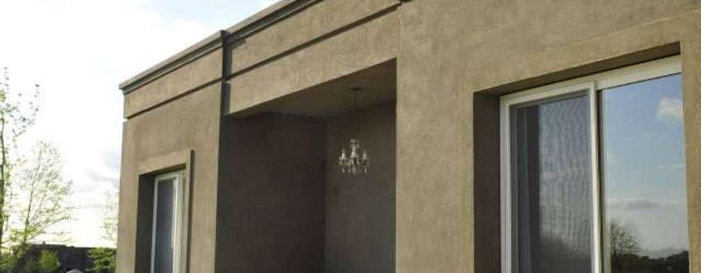 Casas de estilo moderno por Aulet & Yaregui Arquitectos
