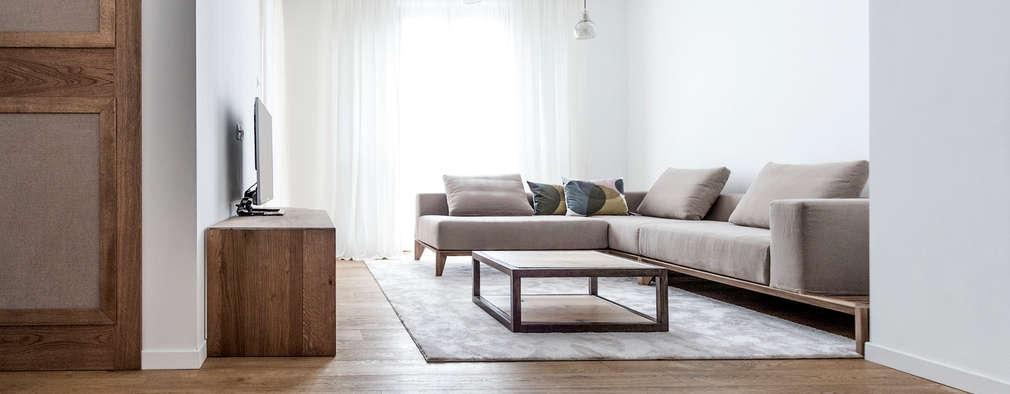 scandinavian Living room by Galleria del Vento