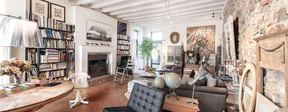 colonial Living room by Studio Maggiore Architettura