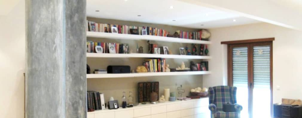 Remodelação de apartamento em Entrecampos:   por Esfera de Imagens Lda