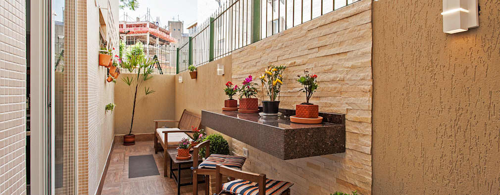 18 ideas para aprovechar mejor tu pasillo y patio peque o for Ideas para decorar un patio exterior pequeno
