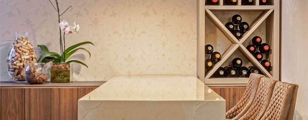 classic Wine cellar by Studio Boscardin.Corsi Arquitetura