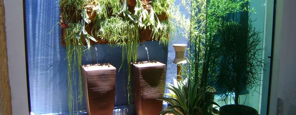 37 ottime idee per creare un giardino verticale - Giardino verticale in casa ...