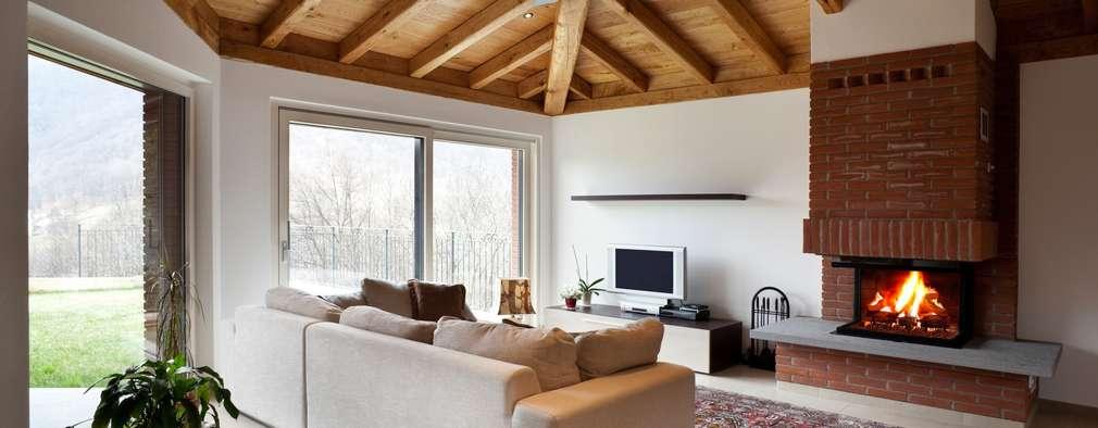 CASA BRUNO salón con ventilador Sonic: Salones de estilo moderno de Casa Bruno American Home Decor