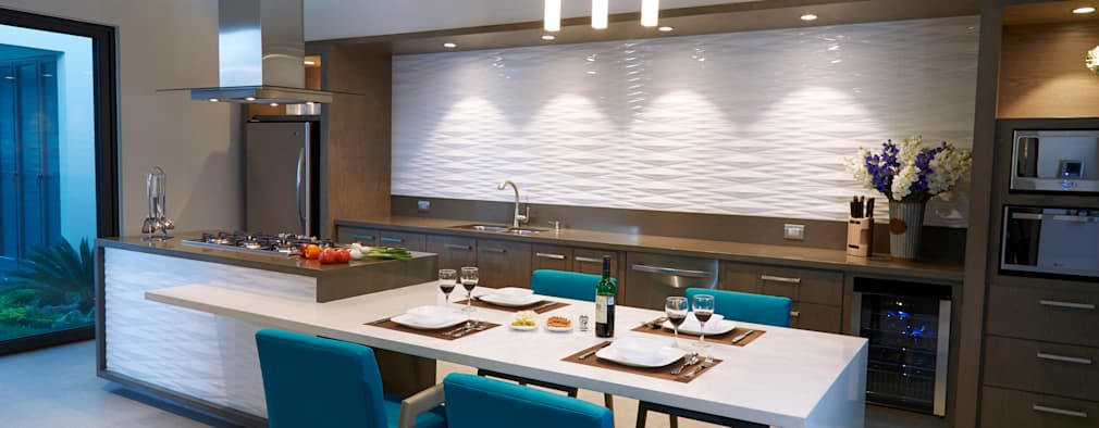 مطبخ تنفيذ arketipo-taller de arquitectura