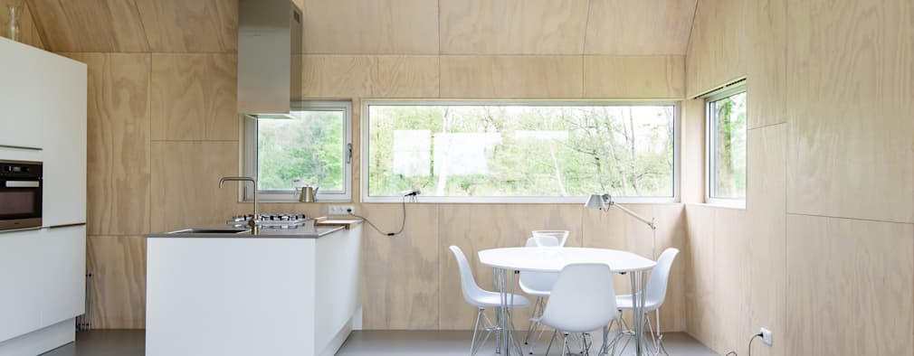 minimalistic Kitchen by Kwint architecten