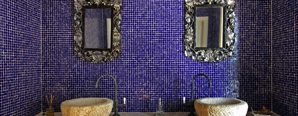 Bancada lavabo:   por Célia Orlandi por Ato em Arte