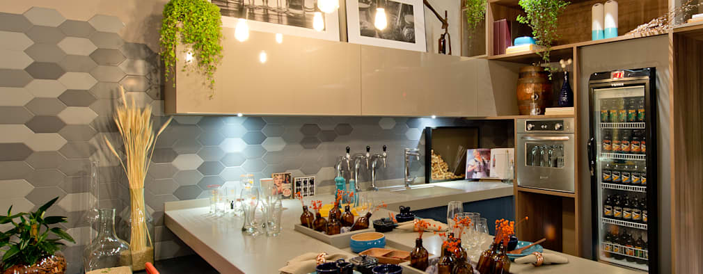modern Dining room by Sarau Arquitetura