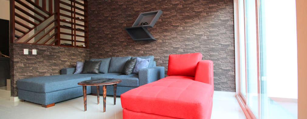 غرفة المعيشة تنفيذ D.I. Pilar Román