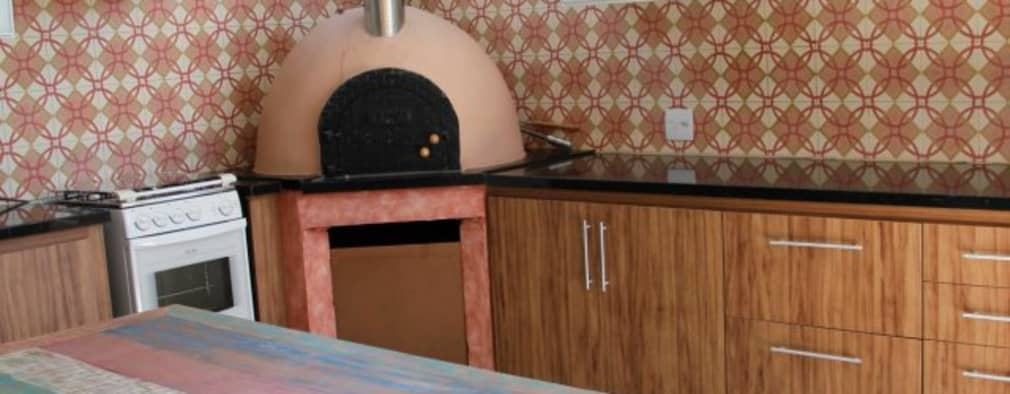 Cocinas de estilo rústico por Carol Abumrad Arquitetura e Interiores