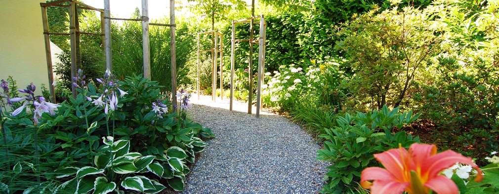landelijke Tuin door Lustenberger Schelling Landschaftsarchitektur