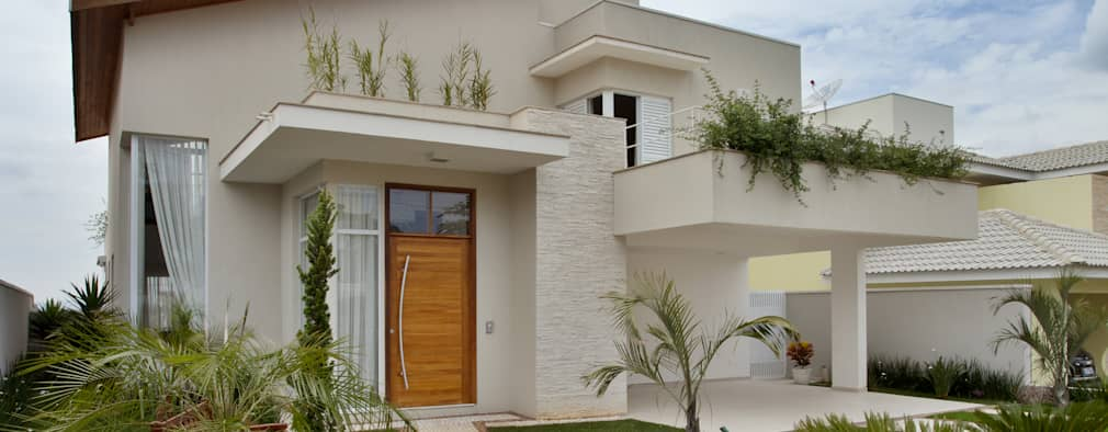 eclectic Houses by Habitat arquitetura