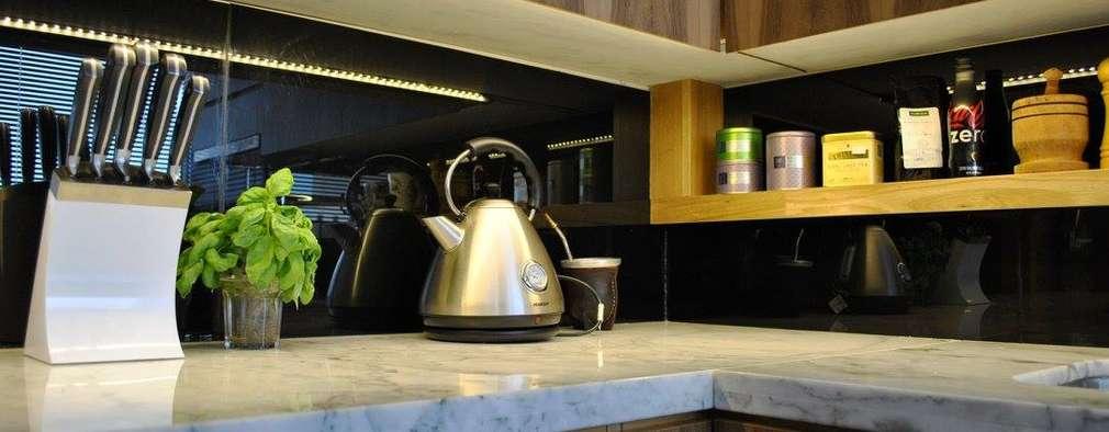 廚房 by T + T Arquitectos