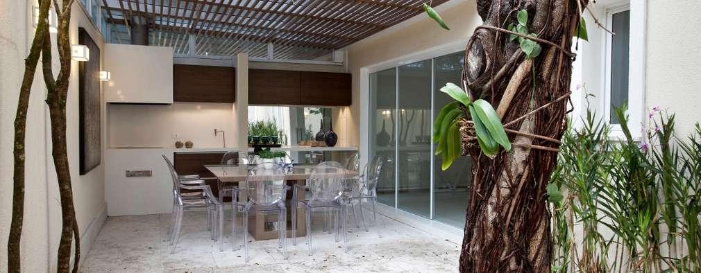 Patio peque o transformado en espacio gourmet para for Diseno de patio exterior pequeno