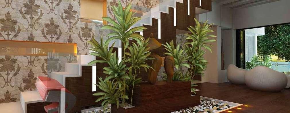 Salas de estilo moderno por 3D Power Visualization Pvt. Ltd.