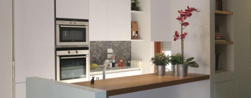 30 cocinas blancas y s per modernas para todos los gustos - Cocinas super modernas ...