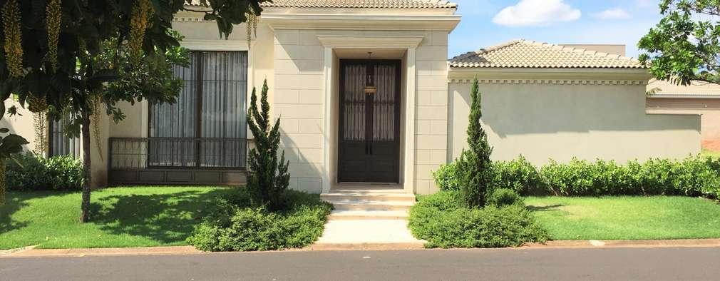 16 puertas de hierro forjado que har n lucir la entrada de for Puertas de hierro para entrada de casa