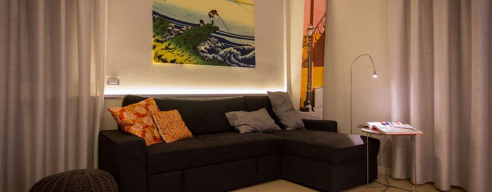 Livings de estilo moderno por davide pavanello _ spazi forme segni visioni
