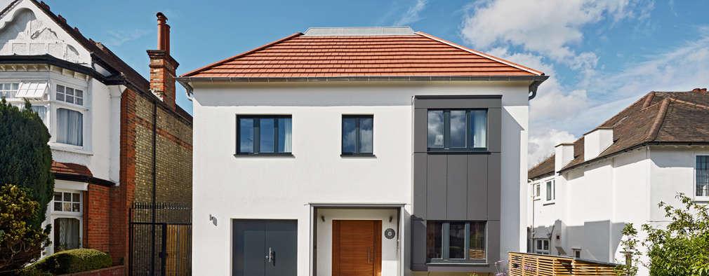 Maisons de style de style Moderne par Baufritz (UK) Ltd.