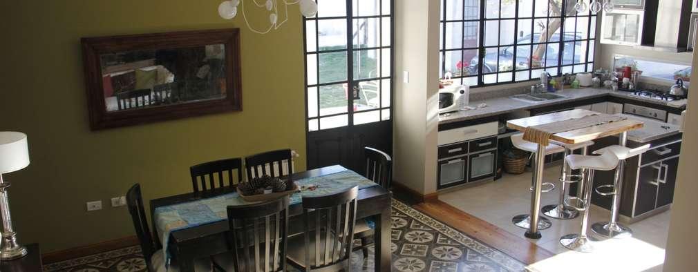 laura zilinski arquitecta: modern tarz Yemek Odası
