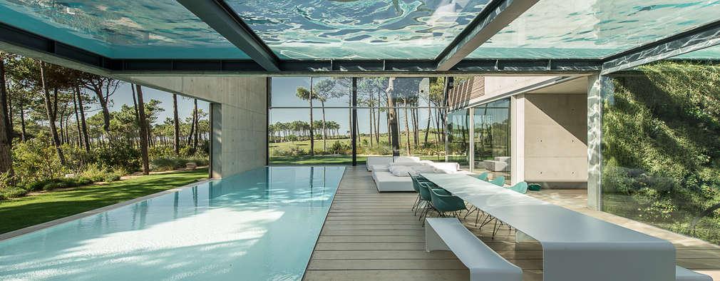 7 coole h user mit berraschenden ideen - Wintergarten mit pool ...