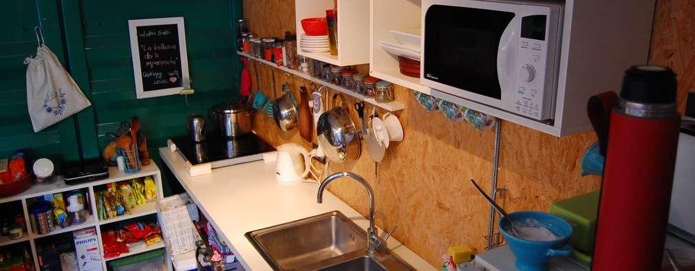 ห้องครัว by Guadalupe Larrain arquitecta
