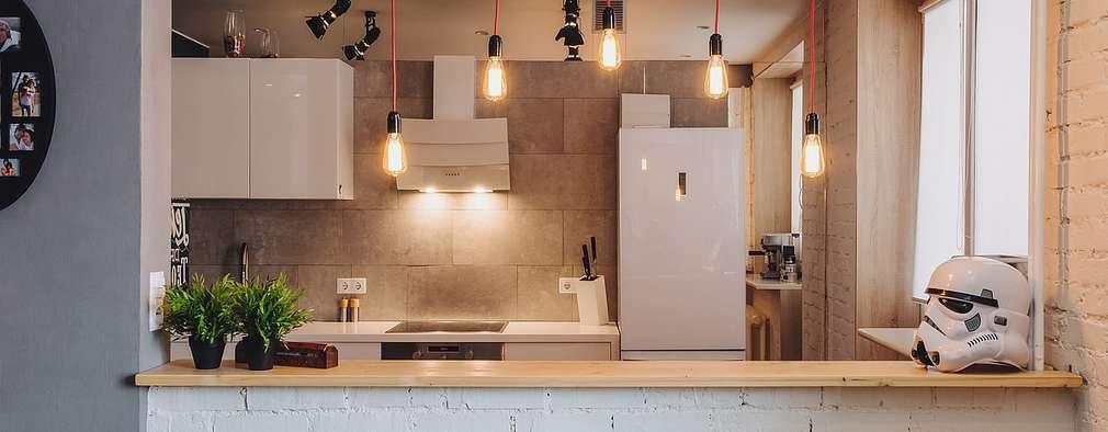 industrial Kitchen by Студия Антона Сухарева 'SUKHAREVDESIGN'