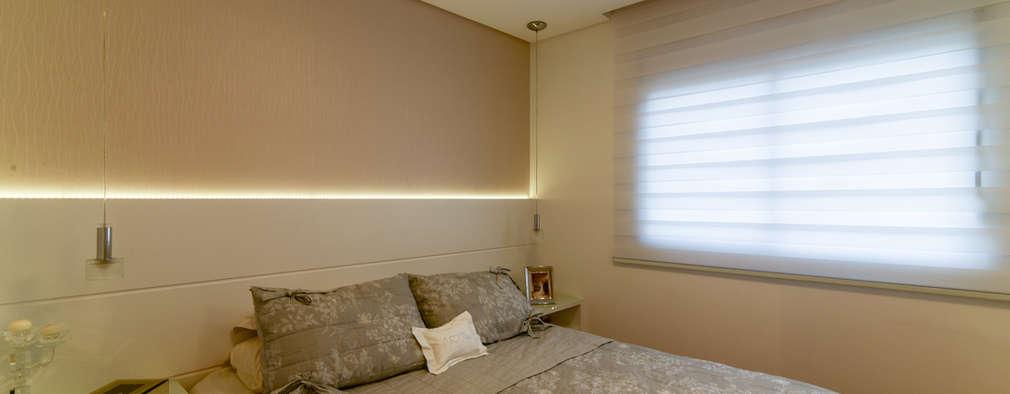 modern Bedroom by RAFAEL SARDINHA ARQUITETURA E INTERIORES